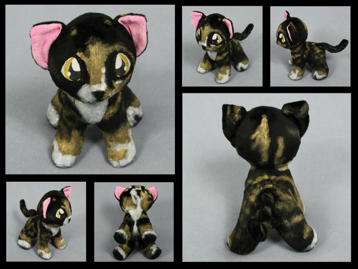 Tabby Cat Plush