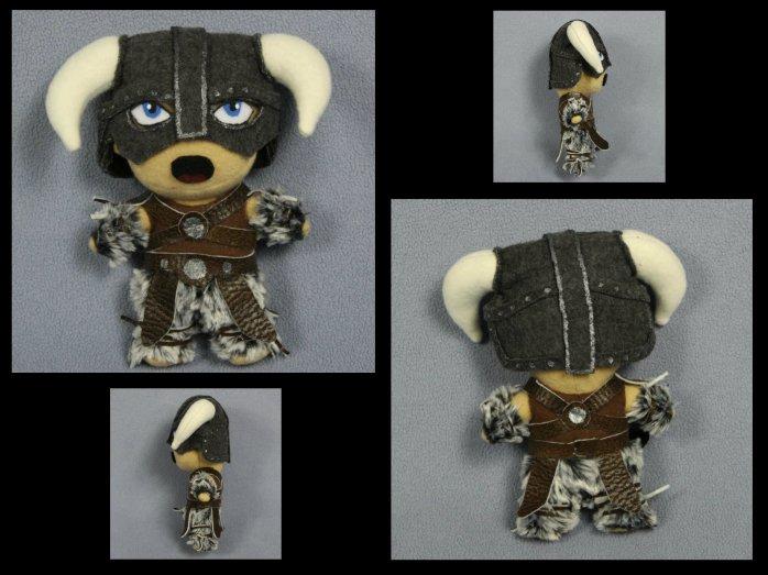 Dovahkiin Skyrim Character