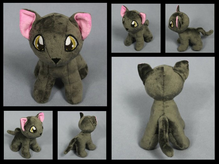 Gray Cat Plush